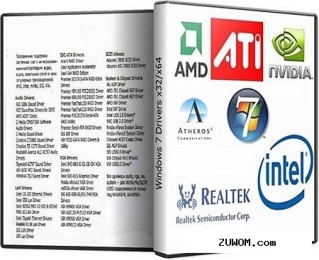 Windows 7 drivers [x32/X64-10.06.2012] (2012) pc