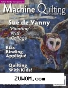 Machine quilting unlimited vol.Xviii №1 2018