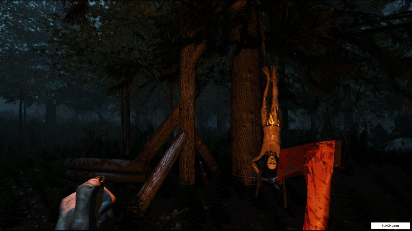 The forest (2014/Eng/Steam early access) + repack. Скриншот №1