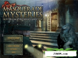 Masquerade Mysteries: The Case of the Copycat Curator [FINAL]