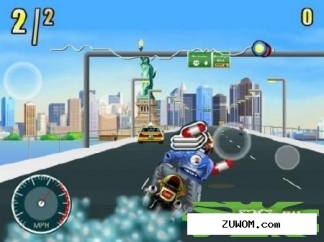 Portable Moto Racing Fever v1.0.0. Скриншот №1