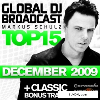 Global DJ Broadcast Top 15 December 2009