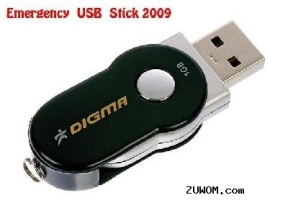 Emergency USB Flesh Stick 0.1 2009