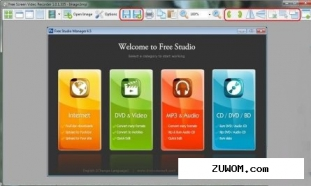 Free Screen Video Recorder 2.4 Portable