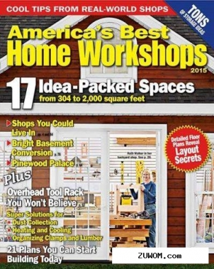 Wood. americas best home workshops 2015